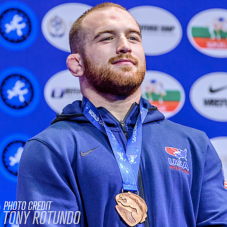 Kyle Snyder's Quest for More (Than) Gold